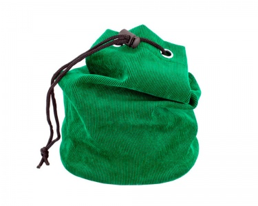 Green Draw String Chess Piece Bag
