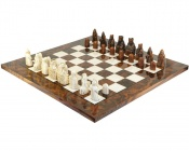 The Isle Of Lewis Italian Large Briar Chess Set