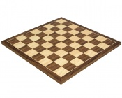 15.75 Inch Walnut and Maple Chess Board