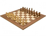 Victoria Sheesham and Walnut Chess Set