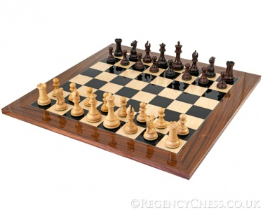 Sandringham Grand Rosewood Chess Set