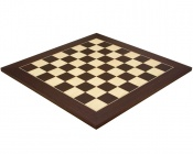 21.65 Inch Deluxe Wenge and Maple Chess Board