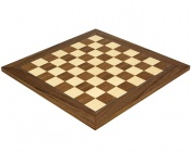 15.75 Inch Deluxe Walnut and Maple Chess Board