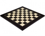 17.7 Inch Gloss Black Anegre and Maple Chess Board