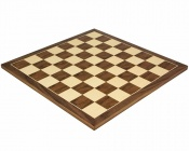21.25 Inch Walnut and Maple Chess Board