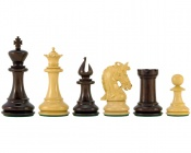 Corinthian Series Luxury Rosewood Chess Pieces 4.25 Inches