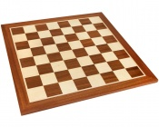 21 Inch Mahogany and Maple Wooden Chess Board