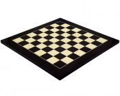 19.7 Inch Gloss Black Anegre and Maple Chess Board