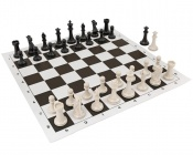 "Conqueror Set 3.875"" King with Brown Board"