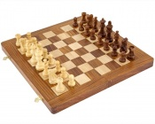 14 Inch Sheesham Magnetic Folding Chess Set