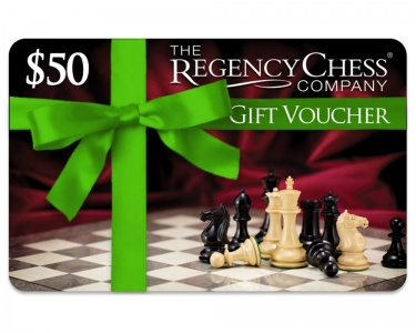 $50 Regency Chess Gift Voucher