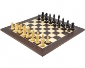 Oxford Black and Wenge Chess Set