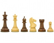"Madrid Sheesham Luxury Staunton Chess Pieces 4"" King"