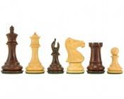 "Windsor Rosewood Chess Pieces 3"" King"