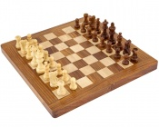 12 Inch Sheesham Magnetic Folding Chess Set