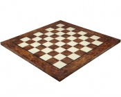 23.6 Inch Briar Wood and Elm Luxury Chess Board