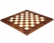 17 Inch Briar Wood and Elm Luxury Chess Board