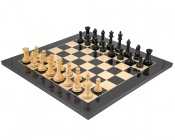 Oxford Black Anegre Chess Set