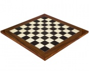 19.7 Inch Gloss Black Anegre and Palisander Chess Board