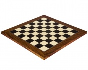 17.7 Inch Gloss Black Anegre and Palisander Chess Board