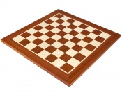 16 Inch Mahogany & Maple Chess Board