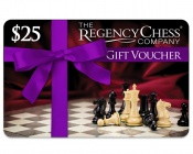 $25 Regency Chess Gift Voucher