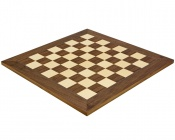 19.7 Inch Deluxe Walnut and Maple Chess Board