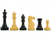 "Broadbase Ebony Chess Pieces 4"" King"
